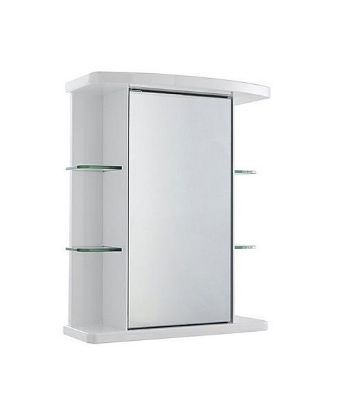 Ultra Verve Single Mirror Cabinet 665 x 530mm