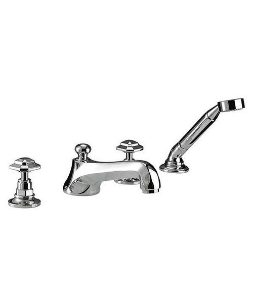 Imperial Niveau 4 Hole Bath Filler Kit With Shower Handset