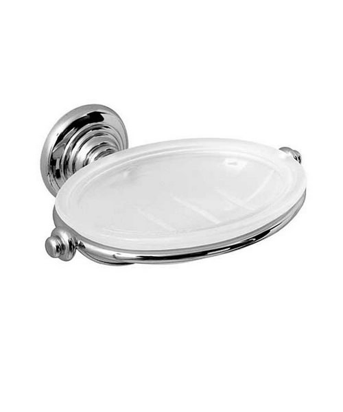 Imperial Henley Soap Dish Chrome