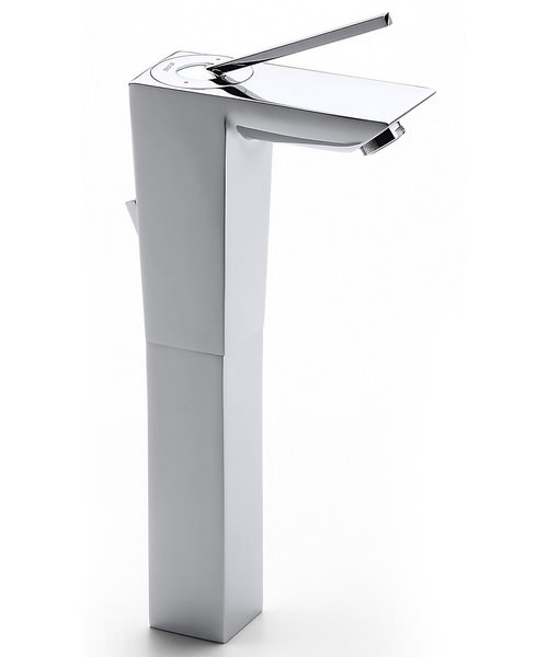 Roca Touch Extended Basin Mixer Tap With Pop Up Waste
