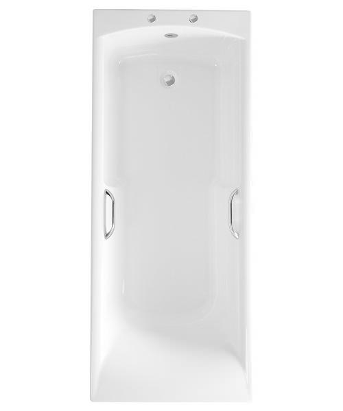 Roca Almeria 1700 x 700mm Acrylic Eco Bath With Grips And Anti-Slip