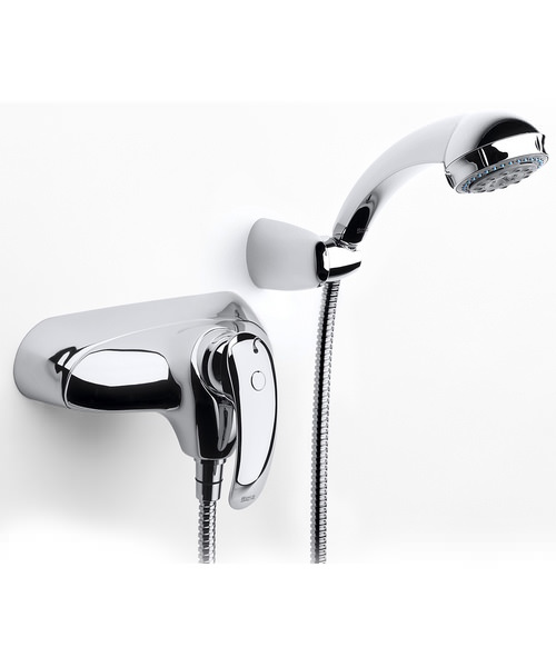 Roca Amura-N Wall Mounted Shower Mixer With Kit