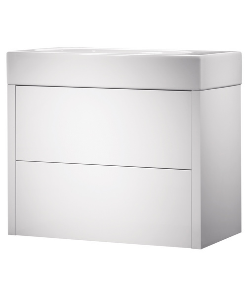 Roper Rhodes Contact White Gloss 700mm Wall Mounted Unit