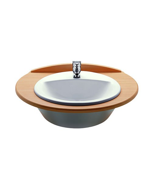 Roca Rodeo White Countertop Basin 520mm