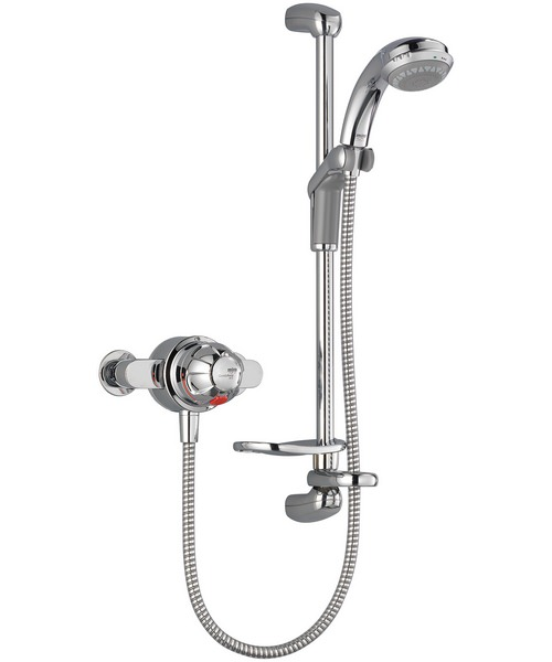 Mira Combiforce 415 EV Exposed Valve Mixer Shower White And Chrome