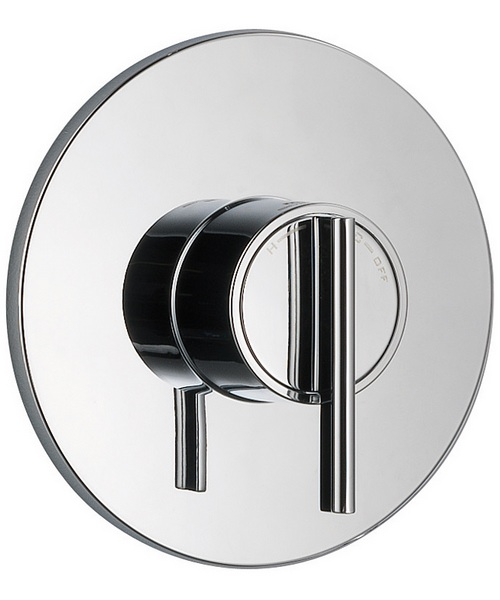 Mira Silver Thermostatic Built In Shower Valve Chrome
