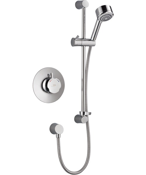 Mira Discovery BIV Built-In Valve Thermostatic Mixer Shower Chrome