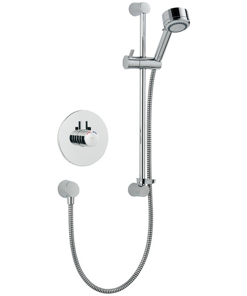 Mira Miniduo BIV Built In Valve Thermostatic Mixer Shower Chrome