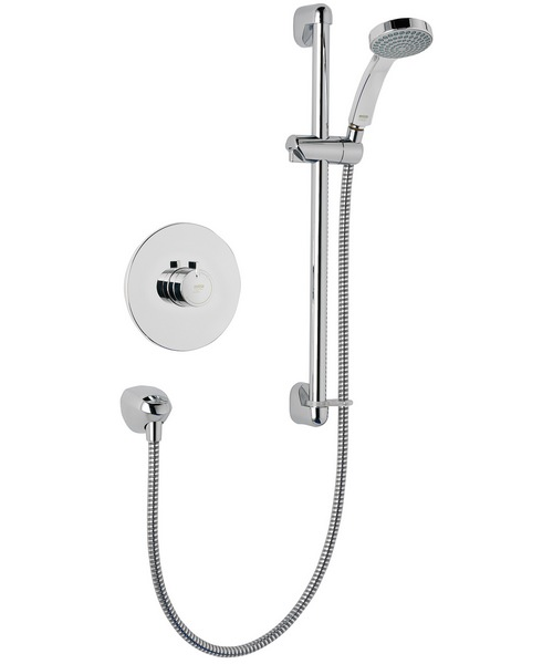 Mira Minilite BIV Built In Valve Thermostatic Mixer Shower Chrome