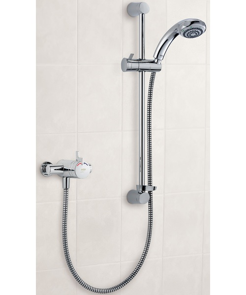 Mira Miniduo EV Thermostatic Mixer Shower With Eco Showerhead