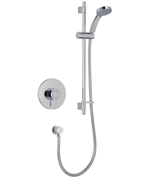 Mira Element SLT BIV Built In Valve Thermostatic Mixer Shower Chrome