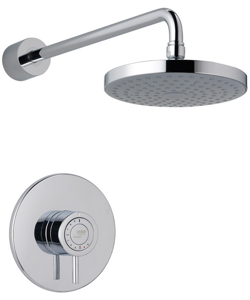 Mira Element BIR Built In Rigid Thermostatic Mixer Shower Chrome