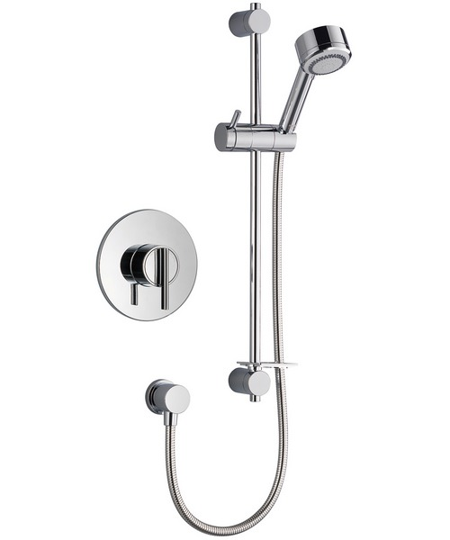 Mira Silver BIV Built In Valve Thermostatic Mixer Shower Chrome