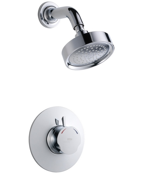 Mira Discovery Concentric BIR Thermostatic Mixer Shower Chrome