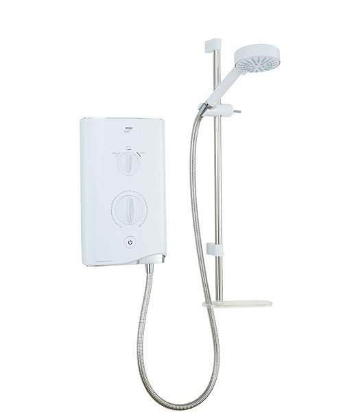 Mira Sport Thermostatic Electric Shower 9.0kW White And Chrome
