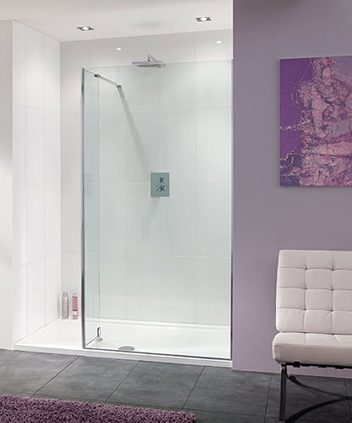 Lakes Coastline Nice 8mm Walk-In Shower Screen