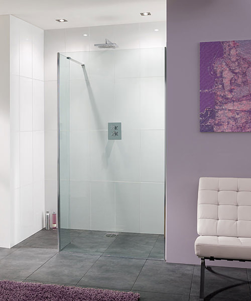 Lakes Coastline Nice Walk In Shower Panel 1100mm x 2000mm