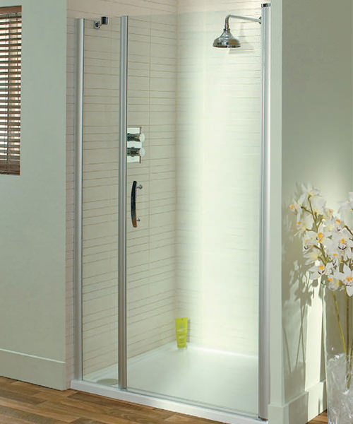Lakes Italia Elegance Latina Semi-Frameless Pivot Door 1000mm