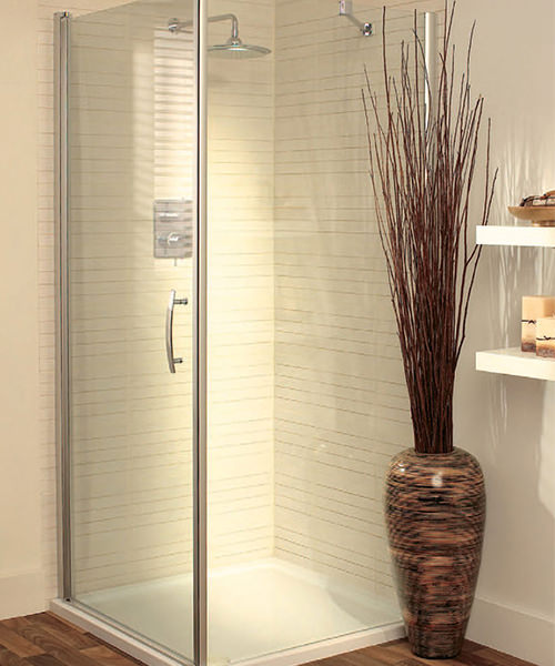 Lakes Italia Elegance Romano Semi Frameless Pivot Door 700mm