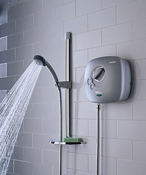 Bristan Hydropower White Thermostatic Power Shower