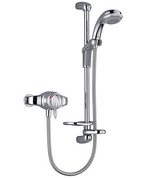 Mira Gem 88 EV Exposed Shower Mixer Valve Chrome