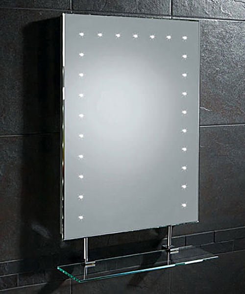 HIB Keo Mirror With Demister Pad And Shaver Socket