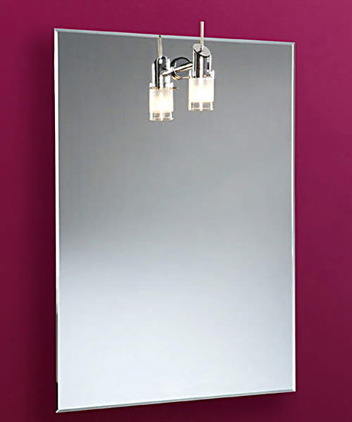 HIB Leila Mirror With Single Halogen Light