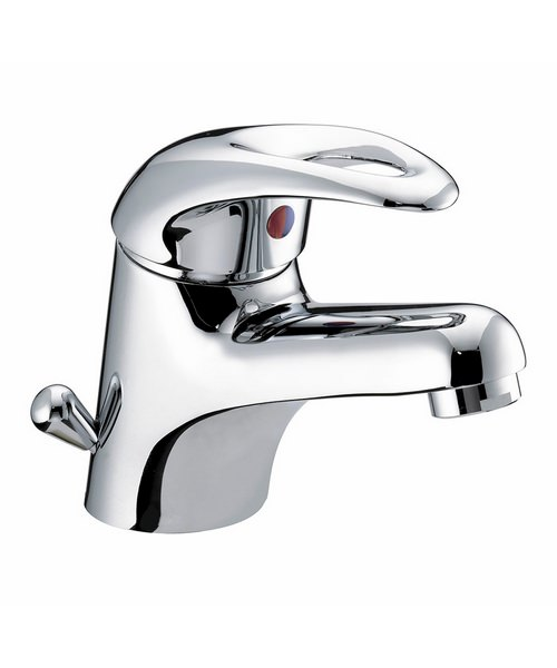 Bristan Java Basin Mixer Tap With Side Action And Pop-Up Waste