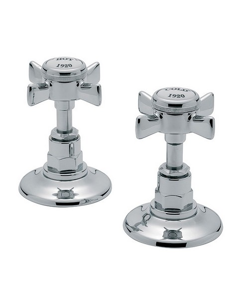 Tre Mercati Imperial Pair Of Side Valves Chrome