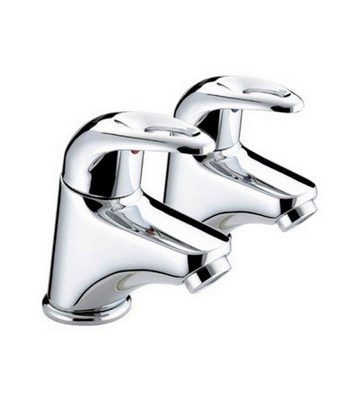 Bristan Jute Pair Of Bath Taps