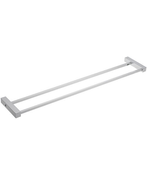 Tre Mercati Turn Me On 600mm Double Towel Rail Chrome
