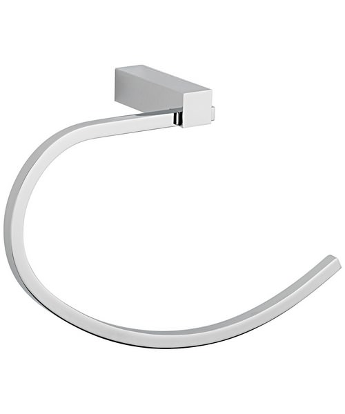 Tre Mercati Turn Me On Towel Ring Chrome