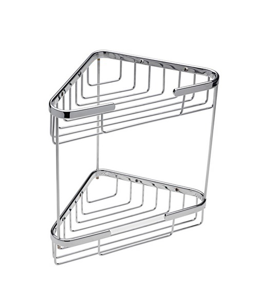 Tre Mercati Miscellaneous Wall Mounted Double Triangular Corner Basket