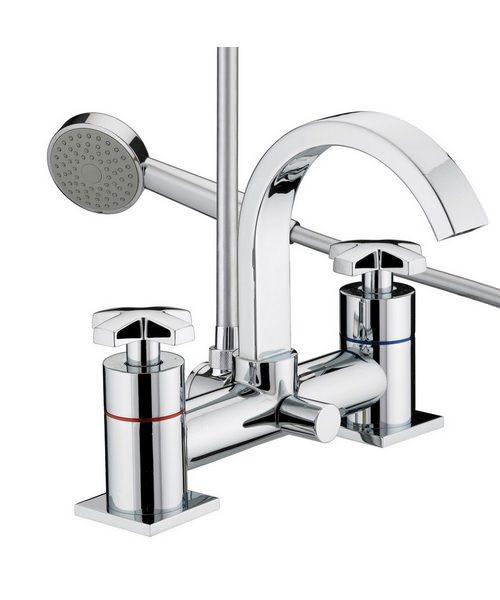 Bristan Moloko Bath Shower Mixer Tap With Kit