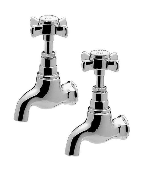 Tre Mercati Imperial Pair Of Bib Tap Chrome