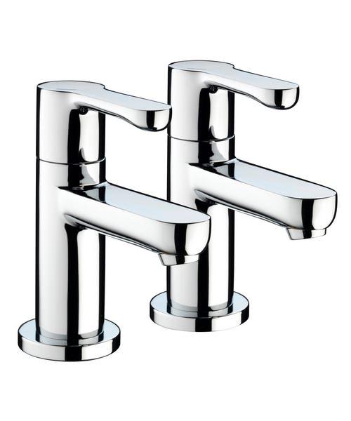 Bristan Nero Pair Of Bath Taps