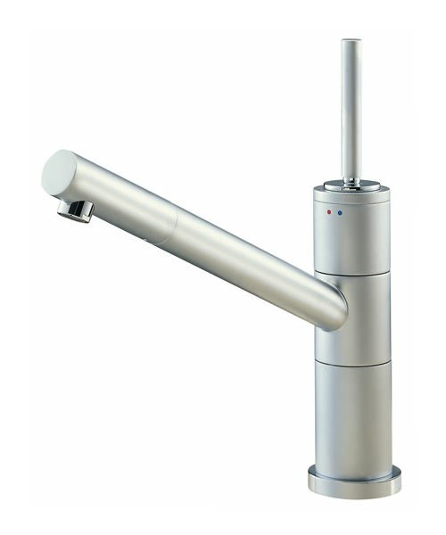 Tre Mercati Anzio Joy Mono Sink Mixer Tap Satin Chrome