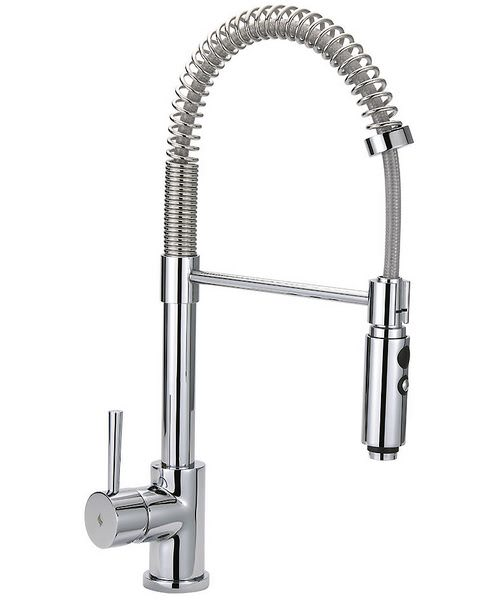 Tre Mercati Cappuccino Professional Mono Sink Mixer Tap With Flexible Spray