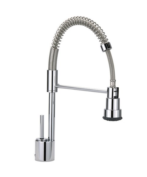 Espresso Professional Mono Sink Mixer With Flexible Spray