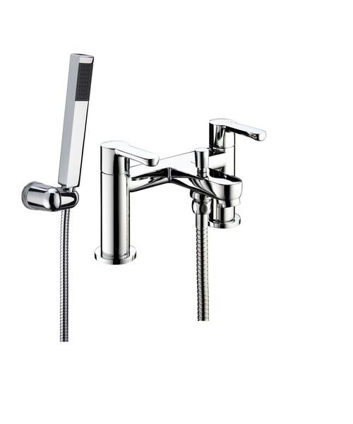 Bristan Nero Bath Shower Mixer Tap With Shower Kit
