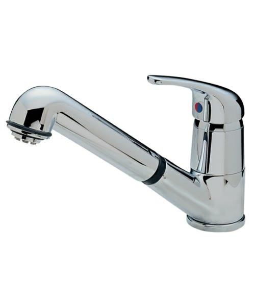 Tre Mercati Modena Standard Dual Flow Mono Sink Mixer Tap Chrome