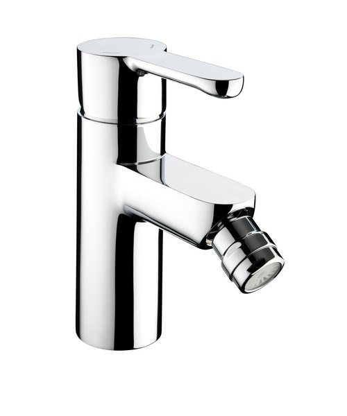 Bristan Nero Bidet Mixer Tap With Pop-Up Waste