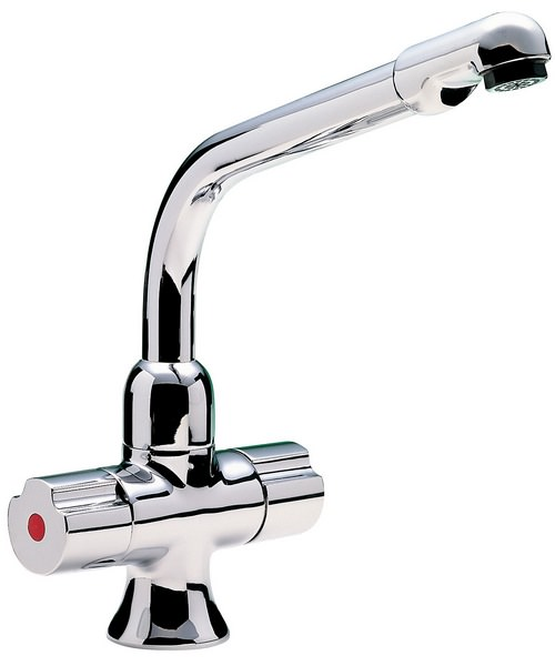 Tre Mercati Bristol Dual Flow Mono Sink Mixer Tap Chrome