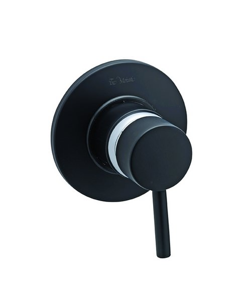 Tre Mercati Milan Black Concealed Manual Shower Valve