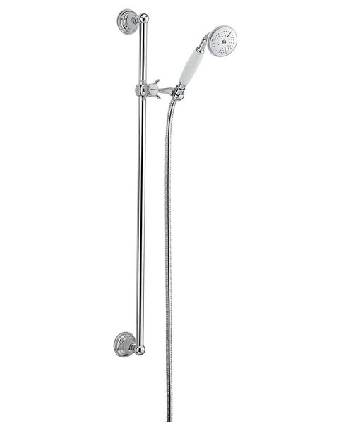 Tre Mercati Imperial No 2 Slide Rail Shower Kit Chrome