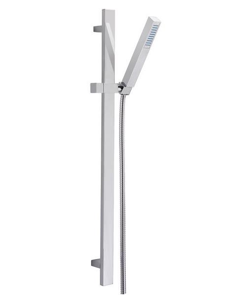 Tre Mercati Viper No 2 Slide Rail Shower Kit Chrome