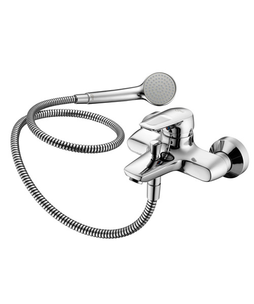 Ideal Standard Ceramix Blue Exposed Bath Shower Mixer Tap