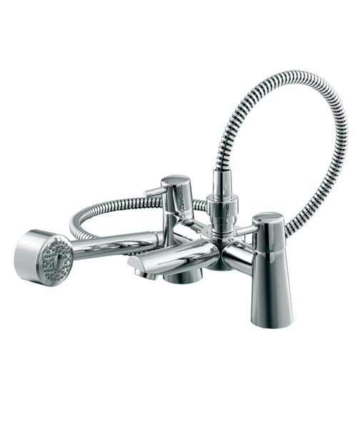 Ideal Standard Cone Bath Shower Mixer Complete With Shower Kit