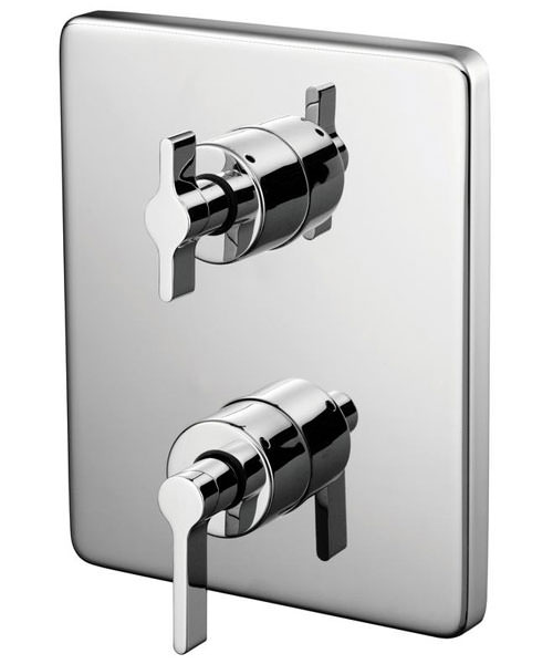 Ideal Standard Silver Faceplate And Handles