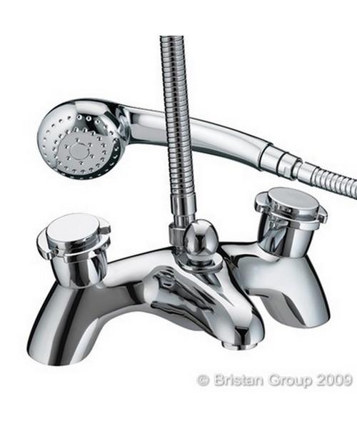 Bristan New Options Bath Shower Mixer Taps With Ceramic Disc Valve